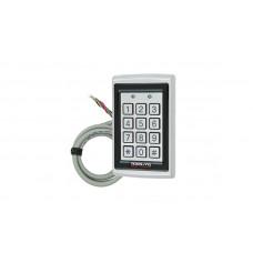 Электронный контроллер ROSSLARE AC-Q42SB автономный антивандальный внешний код + карта EM-MARINE_125Khz с подсветкой