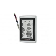 Электронный контроллер ROSSLARE AC-Q 44 автономный антивандальный внешний код + карта EM-MARINE_125Khz с пьезо кнопками
