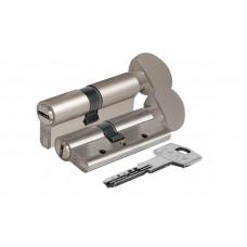 Цилиндр Kale 164 DBNEМ 80мм (35х10х35) никель