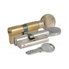 Цилиндр KALE 164 SM 95mm 35x10x50 никель,