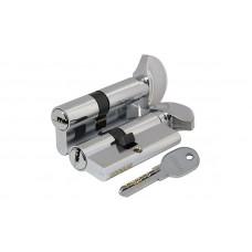 Цилиндр Fuaro 100 DM/RC 68мм (26х10х32) CP 5 ключей ключ/поворотник