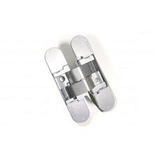 Петля скрытая K1000 3D хромированная матовая 135 ° вес двери 40 кг - 2 петли, 52 кг - 3 петли