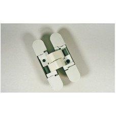 Петля скрытая K1000 3D белая матовая 135 ° вес двери 40 кг 2 петли, 52 кг 3 петли